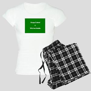 Keep Calm - We're Irish Women's Light Pajamas