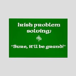 Irish Problem Solving Rectangle Magnet