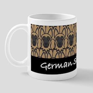 German Shepherd Fan Mug