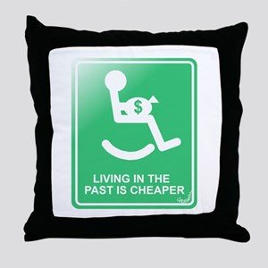 Cheapskate Throw Pillow