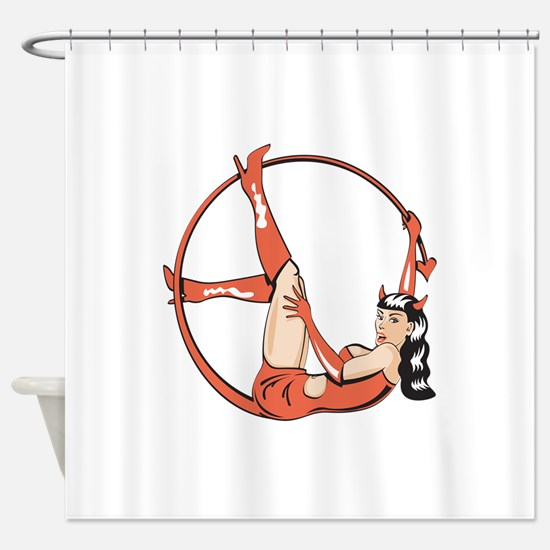 shedevil_tail.png Shower Curtain