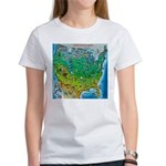 USA Map TEE T-Shirt