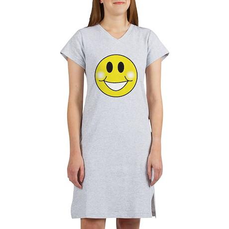 smiley-face Women's Nightshirt