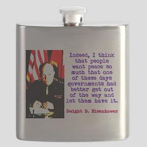 Indeed I Think That People - Dwight Eisenhower Fla