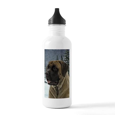 English Mastiff Stainless Water Bottle 1.0L