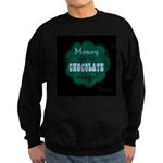 Chocolate Sings Men's Sweatshirt (dark)