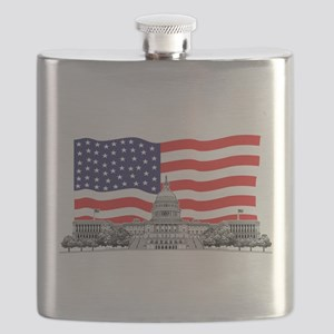 US Capitol Building Flask