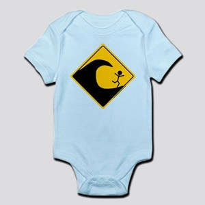 Tsunami Warning Infant Bodysuit