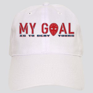 My Goal Is To Deny Yours (Hockey) Cap