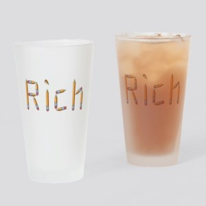 Rich Pencils Drinking Glass