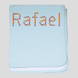 Rafael Pencils baby blanket