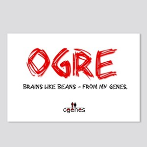 Ogre Genes Postcards (Package of 8)