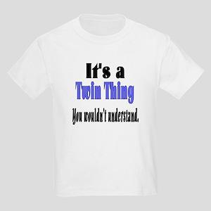 It's A Twin Thing Kids Light T-Shirt