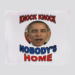OBAMA LAND Throw Blanket