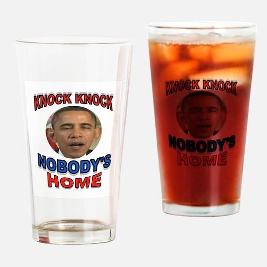 OBAMA LAND Drinking Glass