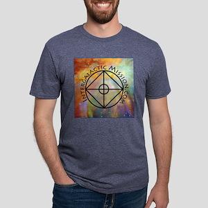 IntergalacticMission.com sq Mens Tri-blend T-Shirt