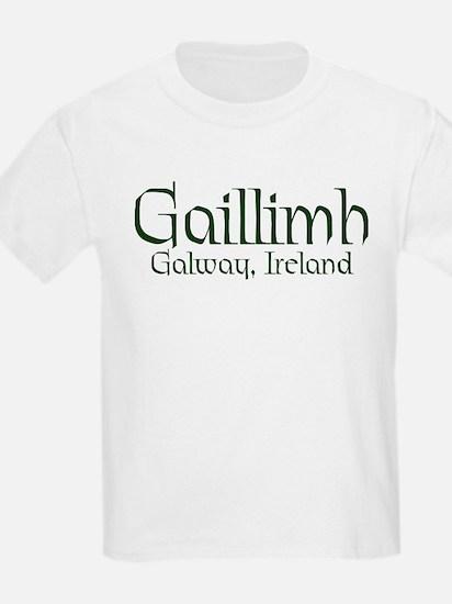 County Galway (Gaelic) Kids T-Shirt