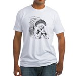 Fallen Angel Fitted T-Shirt