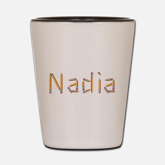 Nadia Pencils Shot Glass