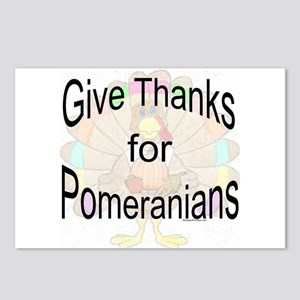 Thanks for Pomeranian Postcards (Package of 8)