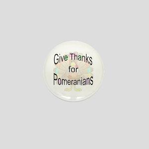 Thanks for Pomeranian Mini Button