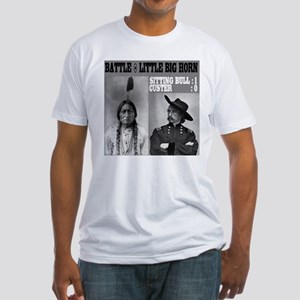 Sitting Bull - Custer Fitted T-Shirt