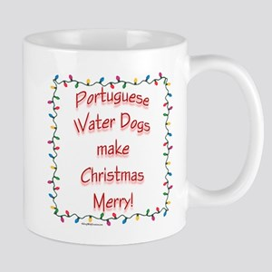 Merry Portuguese Water Mug