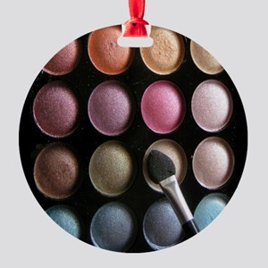 Eye Shadow Round Ornament