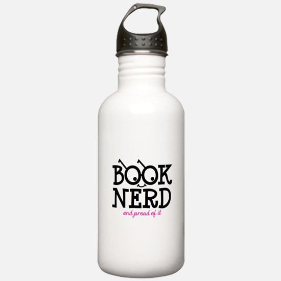 Book Nerd Water Bottle
