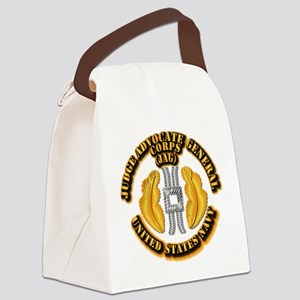 Navy - JAG Corps Canvas Lunch Bag
