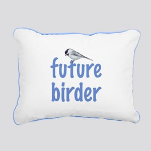 future birder Rectangular Canvas Pillow