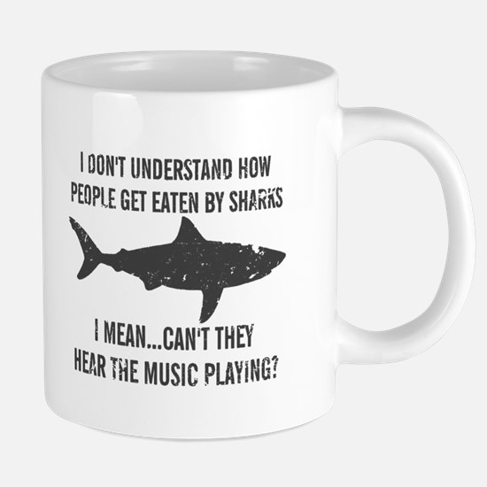 Why do people get eaten by sharks - hear the music
