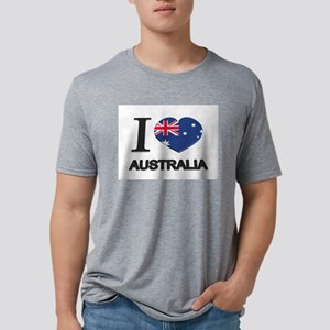 Love Australia Mens Tri-blend T-Shirt