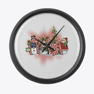 Noel Large Wall Clock