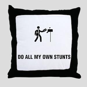 Mail Man Throw Pillow