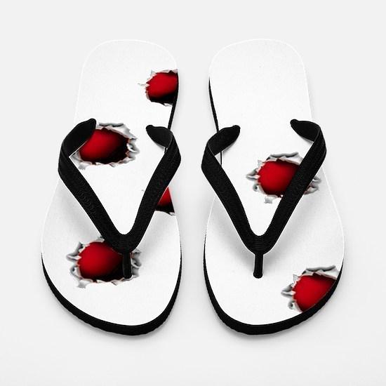 KILL ZONE Flip Flops