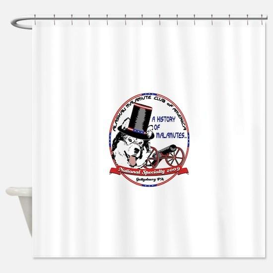 2009 AMCA National Logo Shower Curtain