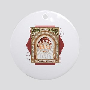 Santa Claus 488x825.png Ornament (Round)