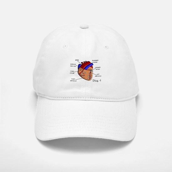 The heart Diagram BEST Shirts.PNG Baseball Baseball Cap