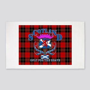 Scotland only for the brave 3'x5' Area Rug