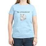 My Cat Kneads Me Women's Light T-Shirt