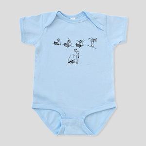 5 Stages of Web Design Infant Bodysuit
