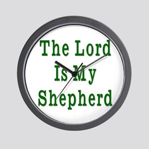 Psalm 23 Wall Clock
