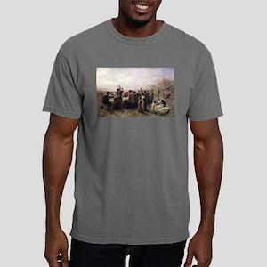 First Thanksgiving Vinta Mens Comfort Colors Shirt
