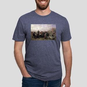 First Thanksgiving Vintage Mens Tri-blend T-Shirt