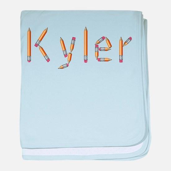 Kyler Pencils baby blanket