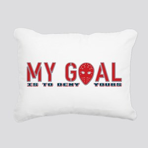 My Goal Is To Deny Yours (Hockey) Rectangular Canv