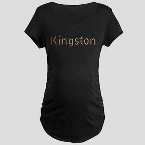 Kingston Pencils Maternity Dark T-Shirt