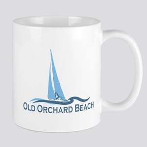 Old Orchard Beach ME - Sailing Design Mug
