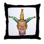 Jokers Wild_2583 Throw Pillow